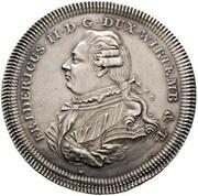 2 thaler Friedrich II -  avers