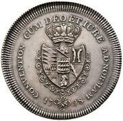 2 thaler Friedrich II -  revers