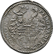 1 Thaler - Ludwig (Marriage with Ursula of Pfalz-Veldenz) – revers