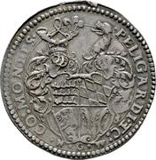 1 Thaler - Ludwig (Marriage with Ursula of Pfalz-Veldenz) – revers
