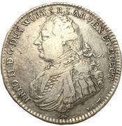 ½ thaler Frédéric II – avers
