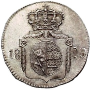 6 kreuzer Frédéric II -  revers