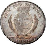 1 thaler Frédéric II (Konventionstaler) – revers