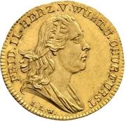 1 ducat Frédéric II – avers