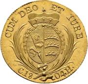 1 ducat Frédéric II – revers