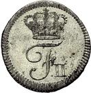 1 kreuzer Frédéric II – avers