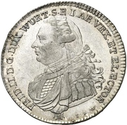 20 kreuzer Frédéric II – avers