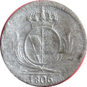 3 kreuzer Frédéric II – revers