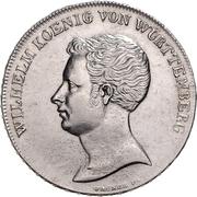 1 thaler Guillaume Ier (Kronentaler) – avers