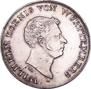 1 thaler Guillaume Ier – avers