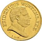 1 friedrich d'or Frédéric Ier – avers