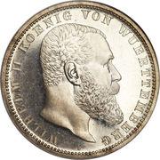 5 mark Guillaume II – avers