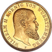 10 mark Guillaume II – avers