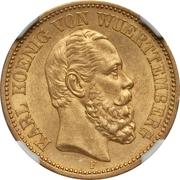 20 mark Charles Ier – avers