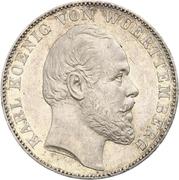 1 vereinsthaler Charles Ier – avers