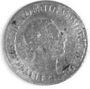 6 kreuzer Guillaume Ier – avers