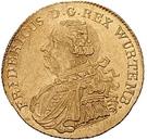 1 ducat Frédéric Ier – avers