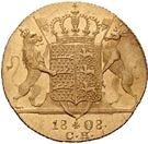 1 ducat Frédéric Ier – revers