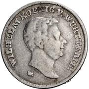 10 gulden Guillaume Ier (frappe essai en argent; visite de la monnaie) – avers