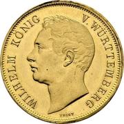 4 ducats Guillaume Ier (visite de la monnaie) – avers