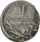 1 kreuzer Frédéric Ier – revers
