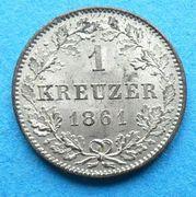 1 kreuzer Guillaume Ier -  revers