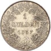 1 gulden Guillaume Ier – revers