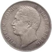 1 gulden Guillaume Ier – avers