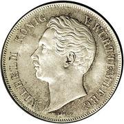 2 gulden Guillaume Ier – avers
