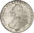 1 Thaler - Friedrich II. (Königstaler) – avers