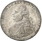 1 Thaler - Friedrich I. – avers