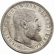 5 mark Wilhelm II (Essai) – avers