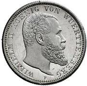 2 mark Wilhelm II (essai) – avers