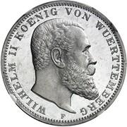 3 mark Wilhelm II – avers