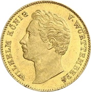 1 ducat Guillaume Ier – avers