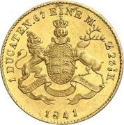 1 ducat Guillaume Ier – revers