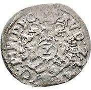 2 Kreuzer - Friedrich I. – revers