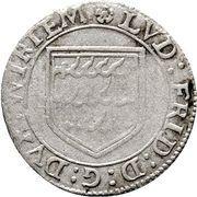 3 Kreuzer - Ludwig Friedrich – avers