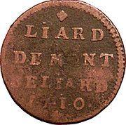 Liard de Montbéliard - Léopold Eberhard – revers