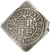 2 Kreuzer - Friedrich I. (Klippe) – avers