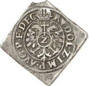 2 Kreuzer - Friedrich I. (Klippe) – revers