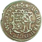 ½ Gulden - Julius Friedrich (Kipper) – avers