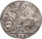 1 Gulden - Julius Friedrich (Kipper; Hirschgulden) – revers