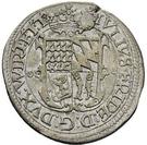 ½ Gulden - Julius Friedrich (Kipper; Hirschgulden) – avers