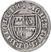 1 Schilling - Gottfried IV., Schenk von Limpurg – avers