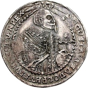 1 Thaler - Gustav Adolph II. – avers