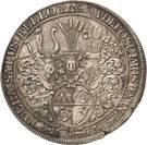 1 Thaler - Johann Gottfried II. von Guttenberg – revers