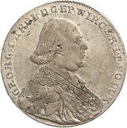 20 Kreuzer - Georg Karl von Fechenbach – avers