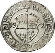 1 Schilling - Friedrich von Wirsberg – avers