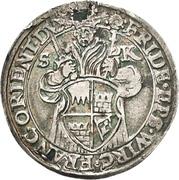 10 Kreuzer - Friedrich von Wirsberg – avers